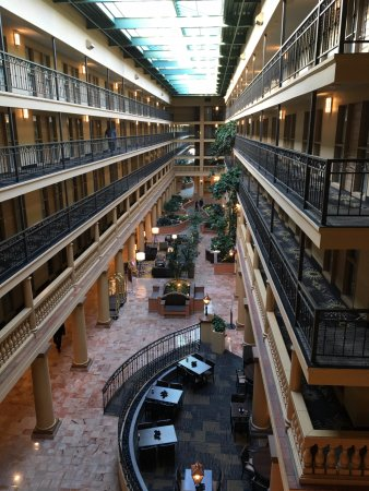 El Segundo, CA: Overlooking the indoor courtyard.
