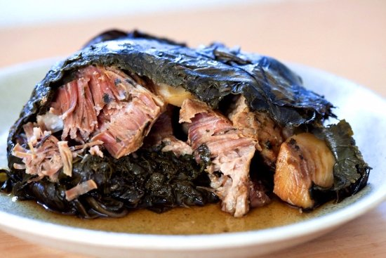 kalua pig (cooked In Imu)...