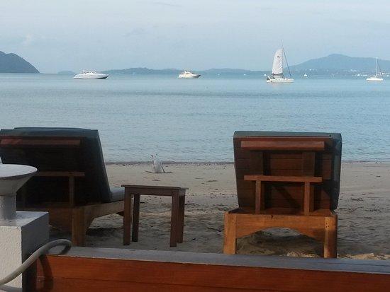 By The Sea: фото сделано с территории ресторана