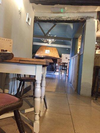 Egerton, UK: Bar area.