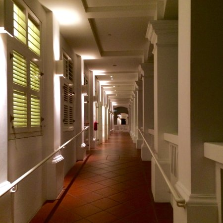 Capella Singapore: Colonial style structures