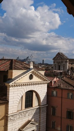 Hotel Primavera : View from our hotel room