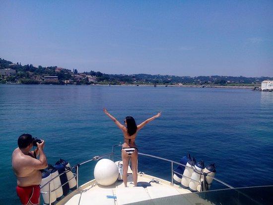 Gouvia, Greece: Sun and sea