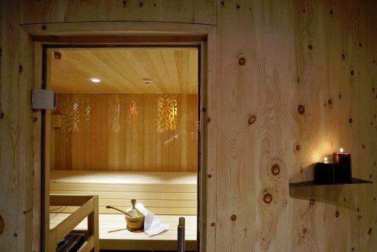 San Sigismondo, Ιταλία: Sauna finlandese