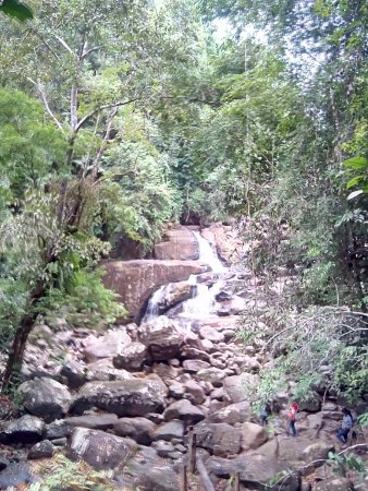 Southern Province, Sri Lanka: water fall