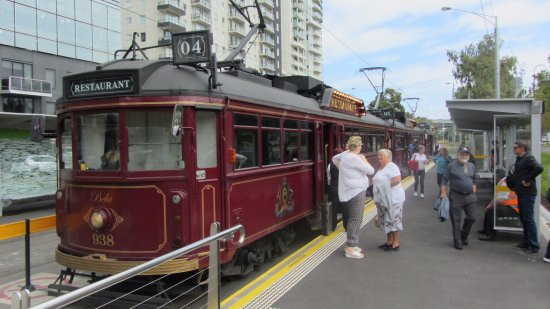South Melbourne, Australia: The Colonial Tramcar Restaurant, Melbourne, Australia