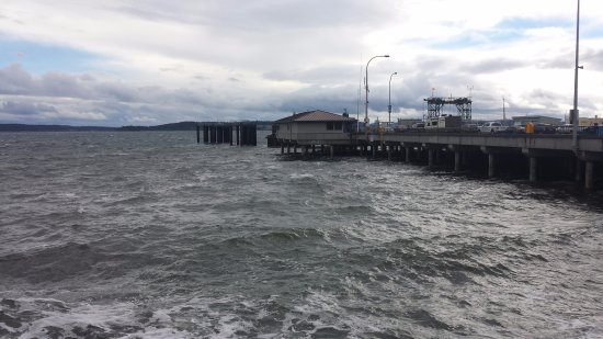 Washington State Ferries: View of Port Townsend ferry terminal.