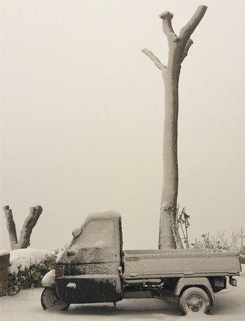 Arcevia e la magia della neve