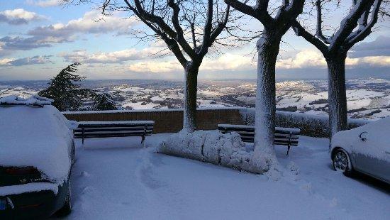 Arcevia. Belvedere di San Rocco