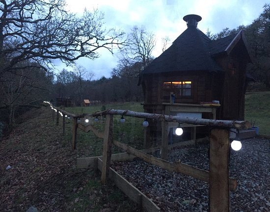 Lochgilphead, UK: Kirnan beg log cabin