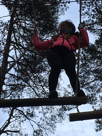 Great experience had by all at Treezone Aviemore! Big thanks to Chris one of the instructors for