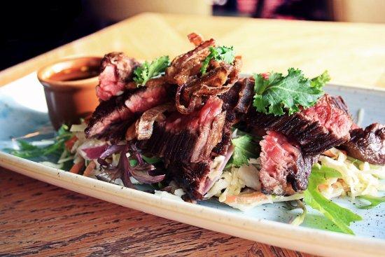 Heerhugowaard, The Netherlands: Beef sashimi