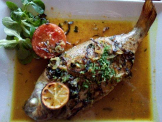 Le Bas Fort Blanc: dorade orientale (au menu)