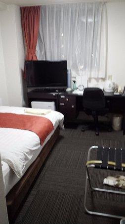 Isahaya, Japan: 部屋も程よく広く、くつろげます。