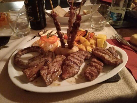 Dalla Padella alla Brace : Grigliata mista