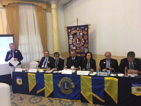 Los Monteros Spa & Golf Resort GL: Reunión de los Clubes de Leones (Lions Clubs) de España