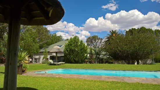 Beaufort West, Sydafrika: The gorgeous pool area