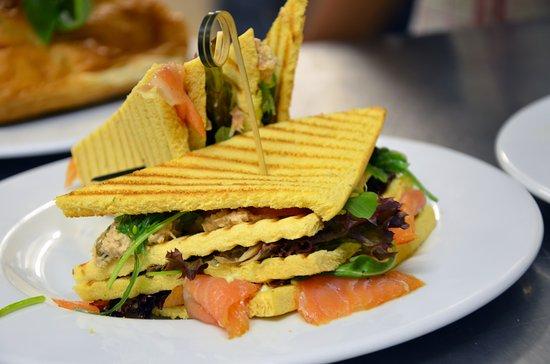 Doetinchem, Países Bajos: Chef's sandwich is een aanrader