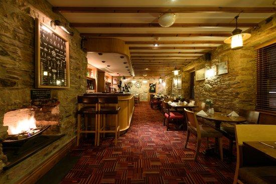 Interior - Picture of The Britannia Inn & Waves Restaurant, Par - Tripadvisor