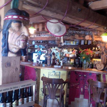 Les Contamines-Montjoie, Francja: bar sympa
