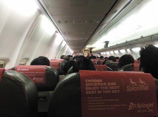 Flight Interiors - Picture of SpiceJet - TripAdvisor