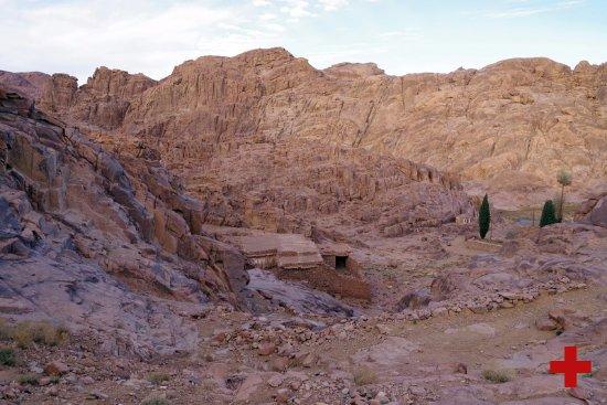 Saint Catherine, Egito: Пещера Пророка Илии