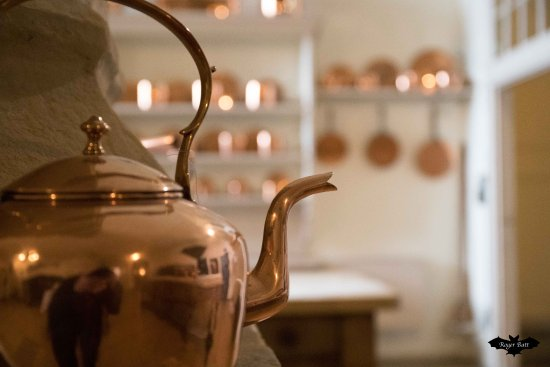 Copper Kettle Pots And Pans In The Kitchen Picture Of