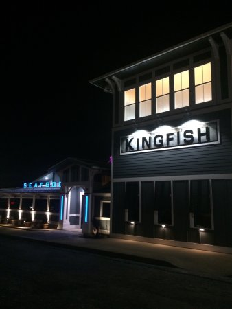 Copley, OH: Nighttime at kingfish