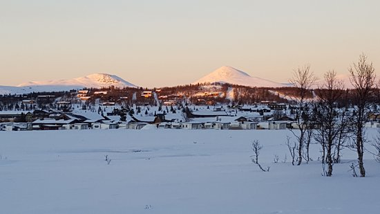 Municipio de Ringebu, Noruega: Views to the north