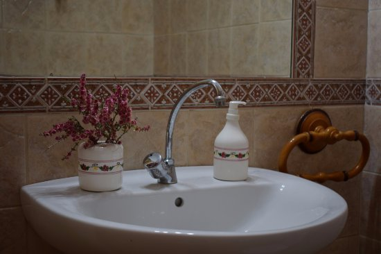 Purullena, España: Extra toilet in hall rooms. Very clean.