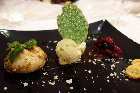 Kirchheimbolanden, Germany: 5. Gang: Dessertteller Schillerhain