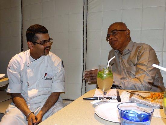 Ottimo Cucina Italiana: The romantic cuisines of the two-The Indian and Italian