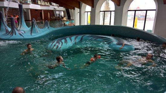 Romerbad Thermal Spa: zábavný ostrůvek nejen pro děti