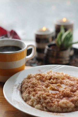 Haugesund, Noruega: Dagens kaffe og risengrynsgrøt