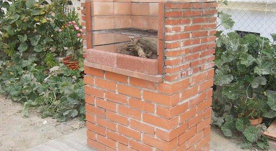 Purullena, España: BBQ barbacoa exterior