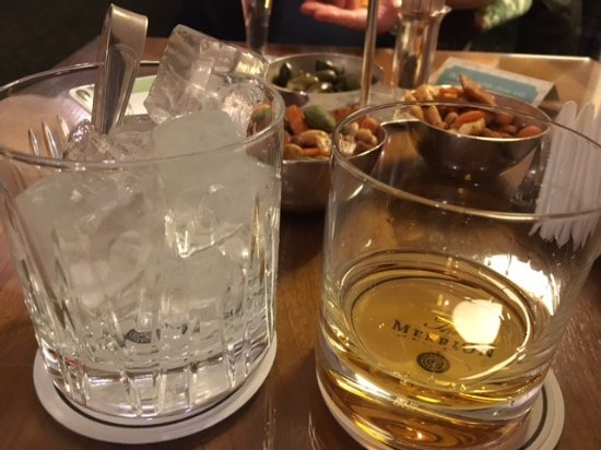 The Merrion Hotel: 15 Year Red Breast neat with a side ice. My beverage of choice when in Ireland.