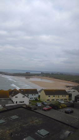 The Pentire Hotel: Fistral beach view
