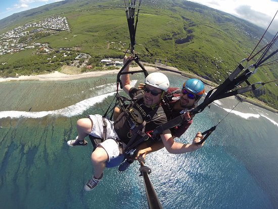 Saint-Leu, Reunion Island: J'ai même pu prendre les commandes, génial !!!