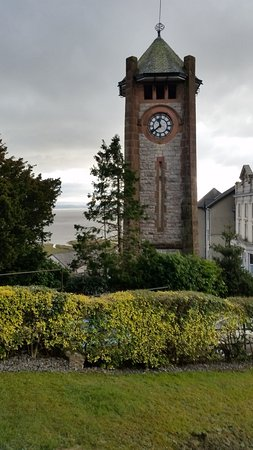 Grange-over-Sands, UK: Clock Tower