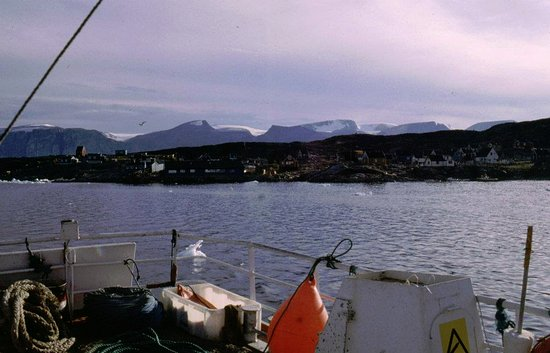 Uummannaq, Greenland: Ankommer til Ikerasaq