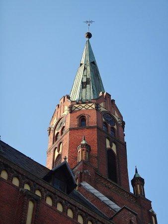 Opava, República Checa: věž kostela