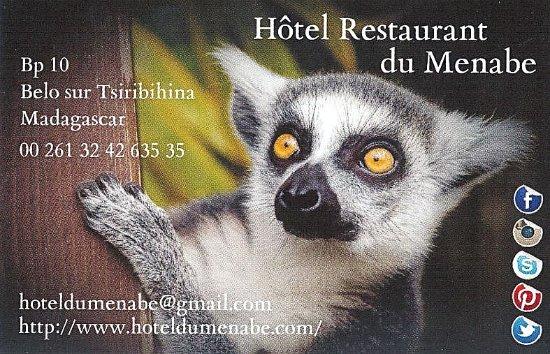 Belo Tsiribihina, Madagaskar: Venez nous rendre visite, nous nous occupons du reste