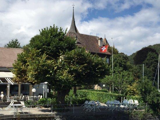 Thun, Suiza: Stunning views on the boat trip!