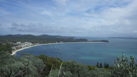 Fingal Bay, Αυστραλία: Lookouts