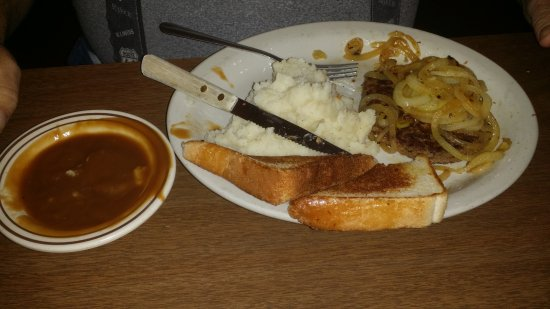 Kiowa, OK: hamburger steak
