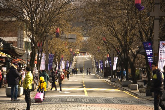 calles de Jeonju