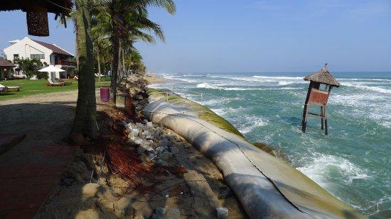 Palm Garden Beach Resort Spa Försvunnen Strand Vid Hotellet