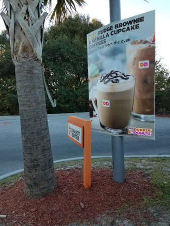 DunkIn Donuts near Mims, Florida- I-95 exit 223