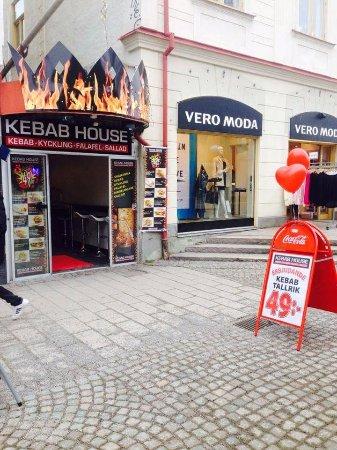 Vaxjo, Sweden: Kebab House I Växjö