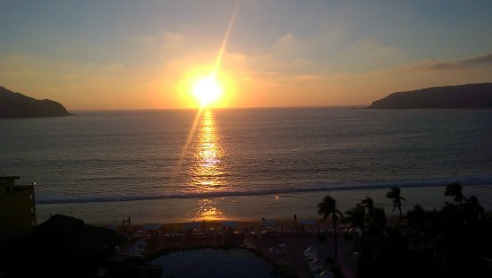 Costa de Oro Beach Hotel: Sunset form the balcony